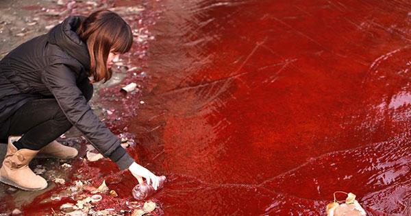 17張照片讓你看見中國的污染有多驚人