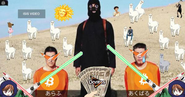 日本人反擊了!網友集體Photoshop惡搞當對ISIS的蔑視