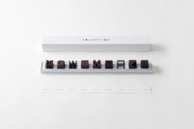 Nendo巧克力2