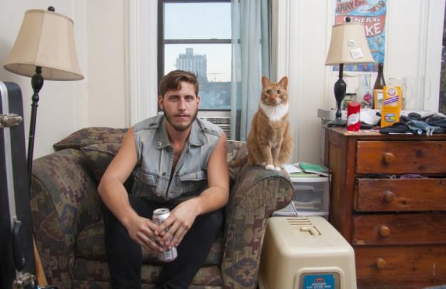 男人與貓1