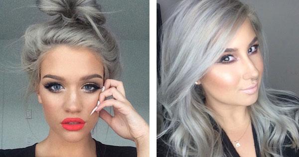阿嬤的白頭髮好美:年輕人把頭髮染白成最新風潮