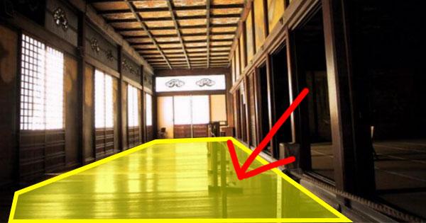 古日本城堡的自我防禦!當敵人一踩到「禁忌的地板」…