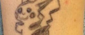 皮卡丘刺青